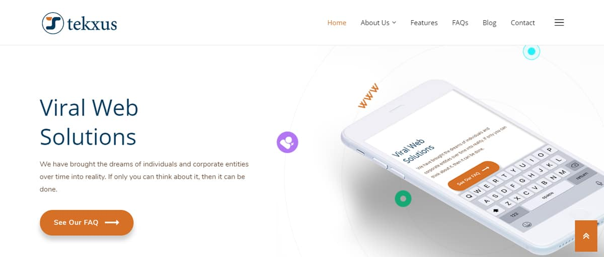 tekxus -web designer nigeria