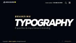 typography-best-web-design-agency-in-abuja-nigeria-abule-graphics-eze-erondu