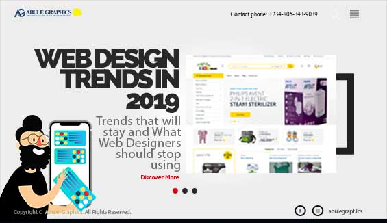 Best Web Design Trends 2019 Abuja Nigeria Abule Graphics Eze Erondu Abule Graphics Blog